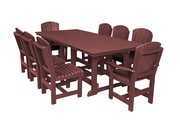 Sale on Outdoor Table with 8 Dining Chairs