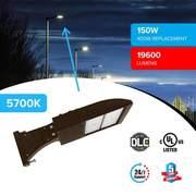 best LED Pole Light 150 Watt 5700K Bronze DM - LEDMyplace