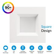 5/6-inch Dimmable LED Downlight SQUARE DESIGN