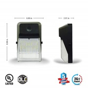 New Slim & Sleek Designed LED Wall Pack 20W - Energy saver Product.