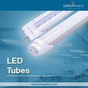 8ft LED Tube - 5000 Lumens - 48 Watt - 120W Equivalent - 5000 Kelvin -